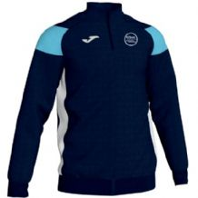 Kilkeel Swimming Club Joma Crewe III 1/4 Zip Sweatshirt Navy/Sky/White Adults 2019